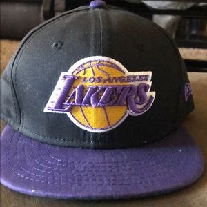 Boys Lakers hat